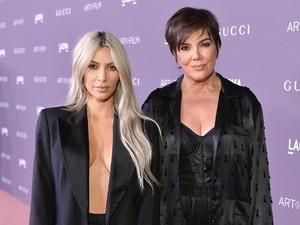 Sambut Cucu Baru, Kris Jenner Hadiahi Kue Pink Cantik untuk Kim Kardashian