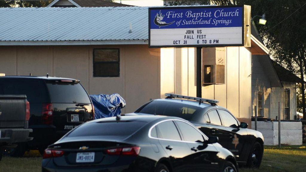 Penembak Gereja Texas Tewas Usai Dikejar Warga yang Bawa Senjata