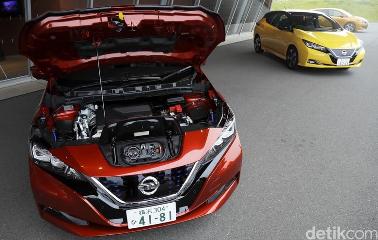 Test Drive Nissan LEAF 2017 di Jepang. Foto: Dikhy Sasra