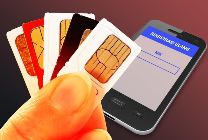 Foto: Registrasi SIM Card (Ilustrasi: Fuad Hasim/detikcom)