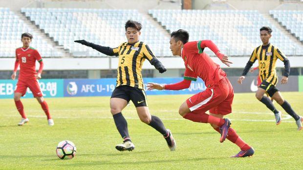 Timnas Malaysia tampil cukup spartan di semifinal Piala AFF U-19 2018.
