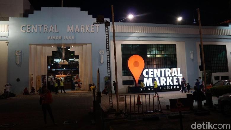 Tampak depan pasar oleh-oleh Central Market Kuala Lumpur (Masaul/detikTravel)