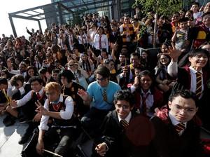Fans Harry Potter di Meksiko Pecahkan Rekor Dunia