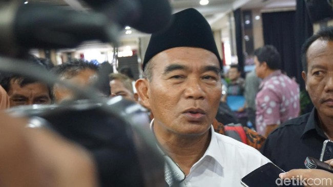 Foto: Mendikbud Muhadjir Effendy (Kanavino Ahmad Rizqo/detikcom)
