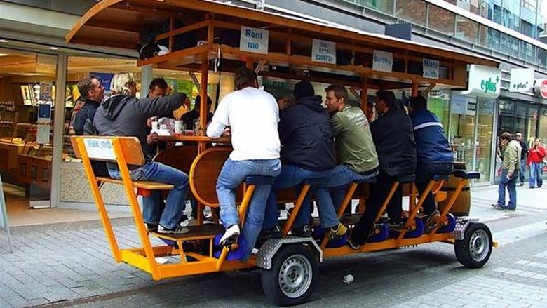 Bike beer di Amsterdam