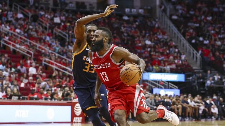 Harden Cetak 56 Poin, Rockets Atasi Jazz