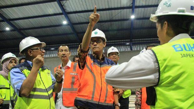 Jasa Marga Mulai Pasang Rangka Beton Tol Jakarta-Cikampek Layang.