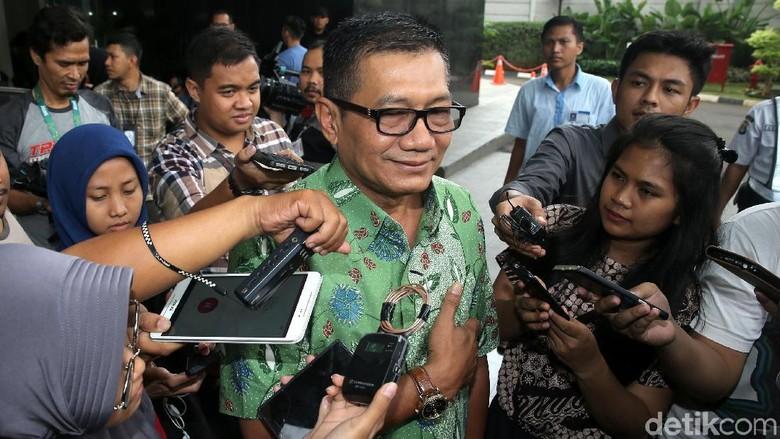 Agun Terangkan Koordinasi dengan Novanto soal Urusan Komisi II