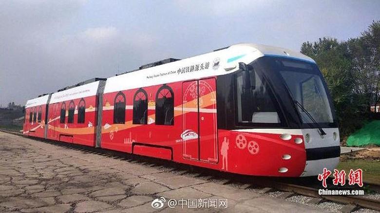Kereta Hidrogen aFoto: Pool (Shanghaiist)