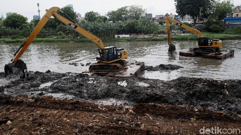 Normalisasi Kanal Banjir Barat