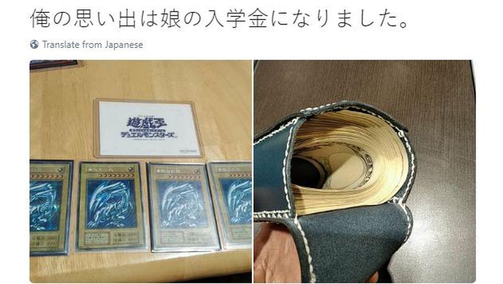 Kartu Langka Seri Anime Yu-Gi-Oh! Laku Rp 70 Juta