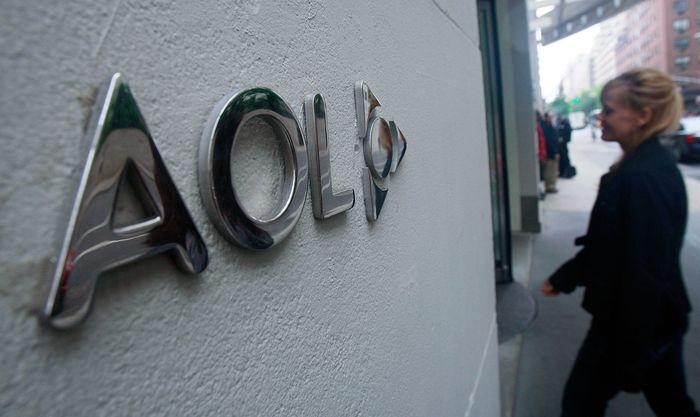 AOL Inc sebelumnya dikenal sebagai America Online. Perusahaan berbasis di New York ini bergerak di multimedia. Alwaleed punya sebagian saham AOL yang dibelinya dari Wall Street. Getty Images/Mario Tama.