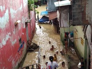Banjir Surut, Warga Medan Maimun Terserang Penyakit