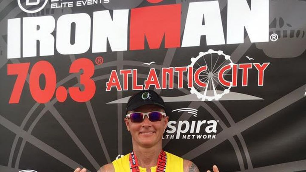 Inspiratif! Atlet Ironman Ini Dulunya Seorang Pecandu