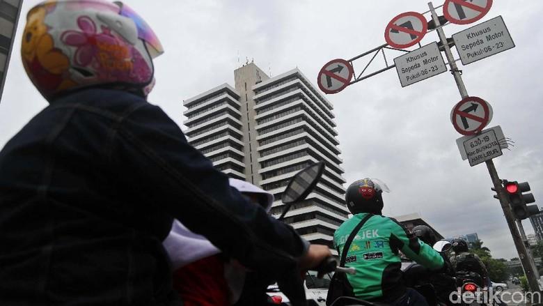 Polda: Pembatasan Motor di Thamrin Efektif Kurangi Macet