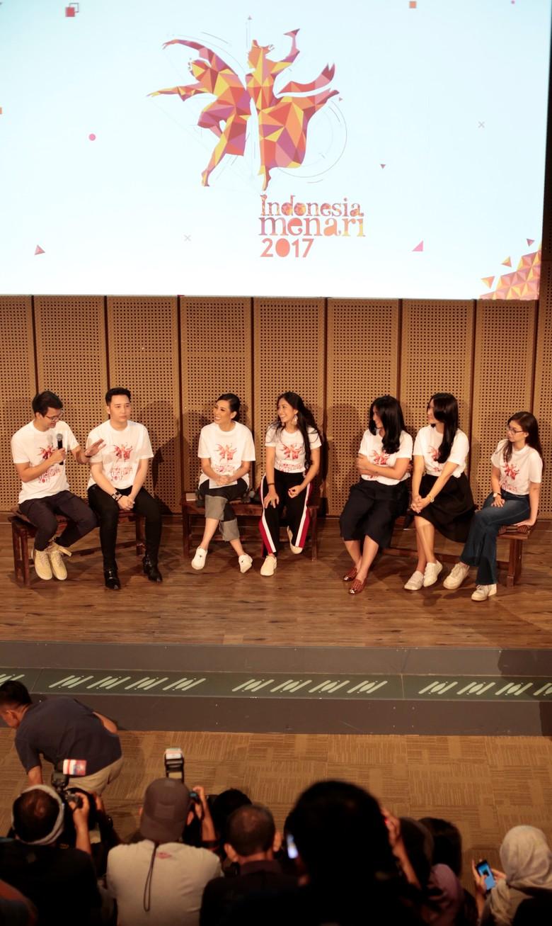 Rosmala Sari Dewi Bikin Koreografi Indonesia Menari 2017 Hanya Dua Jam