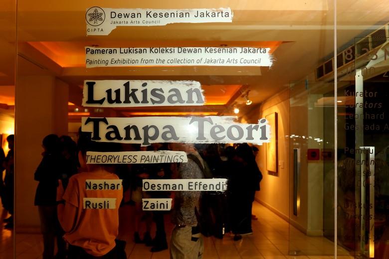 Empat Pelukis Ikuti Pameran Lukisan Tanpa Teori di Jakarta