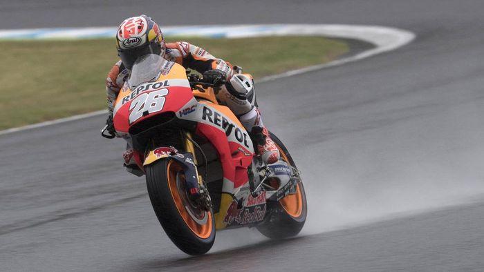 Dani Pedrosa ingin meraih hasil terbaik di MotoGP Valencia (Mirco Lazzari gp/Getty Images)