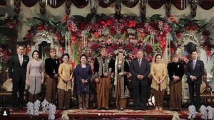Ke Pernikahan Kahiyang, AHY Doakan yang Jomblo Cepat Menyusul