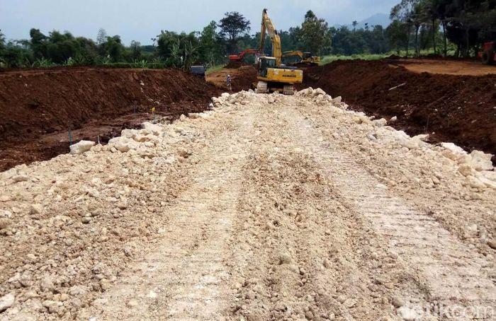 Bendungan Ciawi dan Sukamahi merupakan bendungan kering yang pertama kalinya dibangun di Indonesia. Pool/Kementerian PUPR.