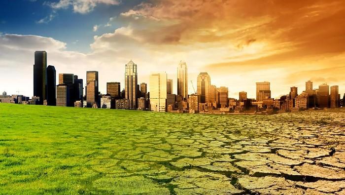 Ilustrasi pemanasan global. Foto: istimewa