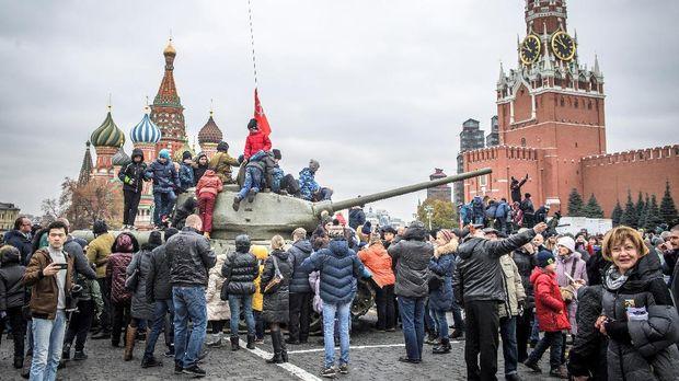 Pelesir ke Ruang Publik nan Megah di Moskow