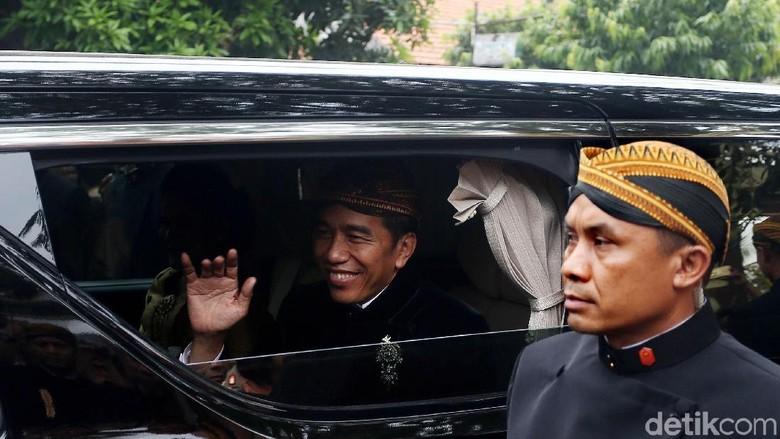 Mata Ni Horja Kahiyang-Bobby Hari ini, Jokowi Hadir Sebagai Raja