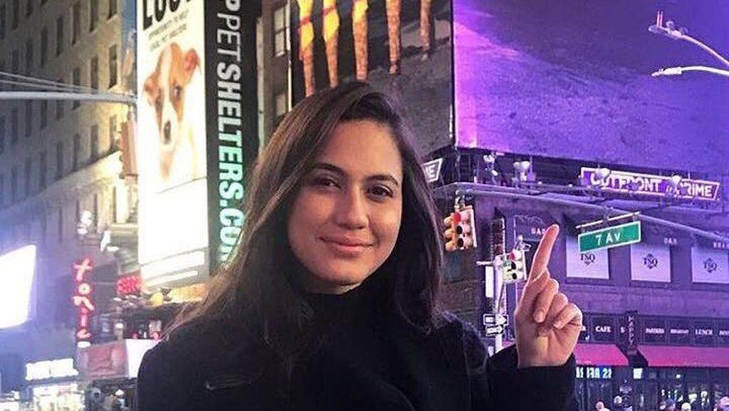 Ketika Pevita Pearce Promosi Keindahan Indonesia di New York