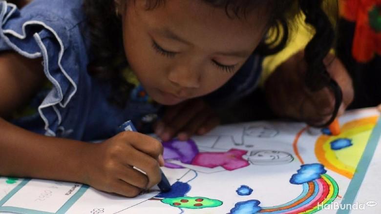 Ilustrasi bakat anak di bidang seni/ Foto: Niko W