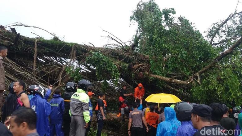 Korban Pohon Tumbang di Banjarnegara Sebagian Besar Pemain Voli