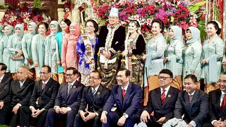 Luhut Sebut Pernikahan Putri Jokowi Sangat Sederhana, Ini Alasannya