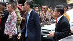 Foto: Keluarga SBY Hadiri Pernikahan Kahiyang-Bobby