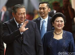 Tahun Baru 2018, SBY Dikaruniai Cucu Keempat