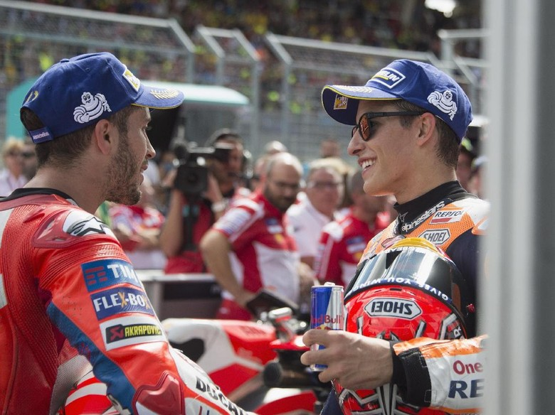 Final Marquez vs Dovizioso, Tonton Live Streaming MotoGP Valencia di detikSport