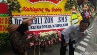 Tamu pernikahan Kahiyang-Bobby.