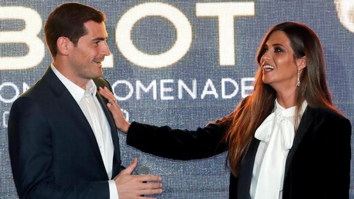 Kabar duka, Istri Iker Casillas terkena kanker ovarium. Foto: Eric Gaillard/Reuters