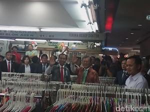 Saat Jokowi Ajak Presiden Korsel Belanja Batik dan Jajan Teh