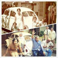 Sebuah foto dapat 'berbicara' banyak hal. Seperti foto keluarga berikut ini yang menjadi perhatian netizen di media sosial.
