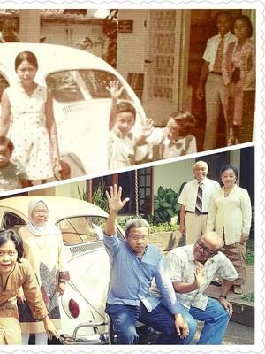 Cerita di Balik Foto Viral Keluarga Beetle 1974 dan 2017