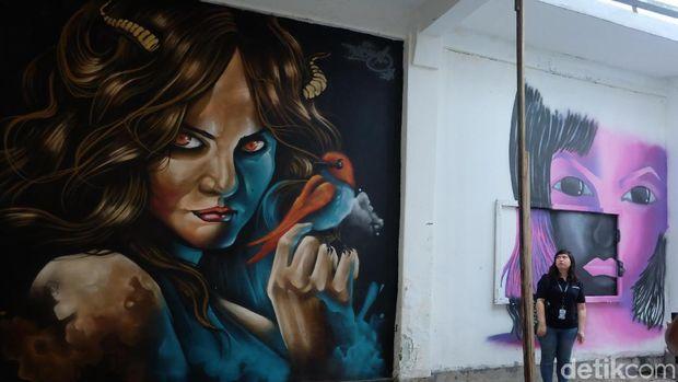 Berkonsep Residensi, 'Artotel Week' Bebaskan Street Artist Berkarya