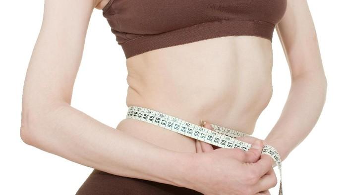 Ilustrasi tubuh yang kurus. Foto: Thinkstock