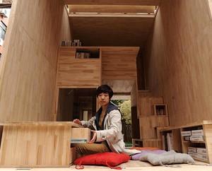 Rumah Mungil Buatan China, Luasnya Cuma 7 Meter Persegi