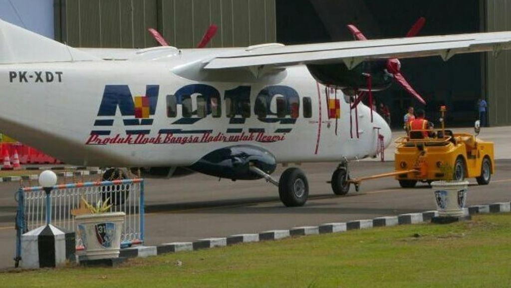 Pesawat N219 Diberi Nama Nurtanio oleh Jokowi