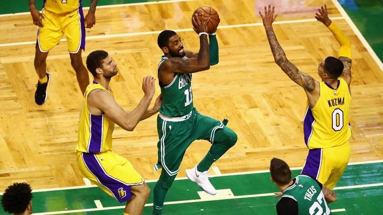 Celtics Bekap Lakers, Warriors Teruskan Tren Kemenangan