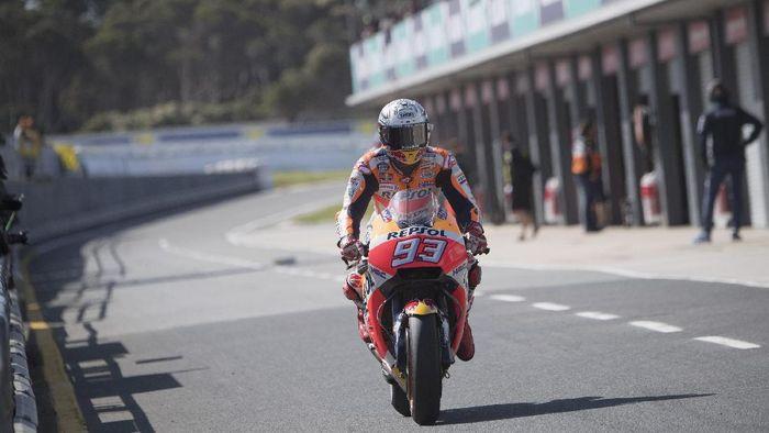 Pebalap Honda, Marc Marquez (Foto: Mirco Lazzari gp/Getty Images)