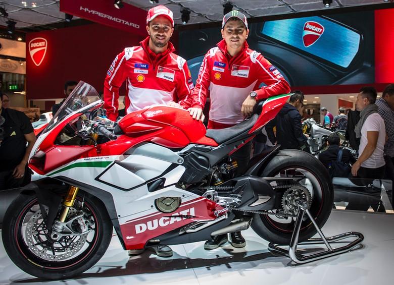 Ducati Desmosedici Stradale V4. Foto: Ducati