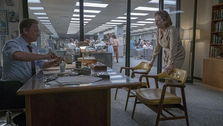 Menyaksikan Meryl Streep dan Tom Hanks dalam The Post Karya Spielberg