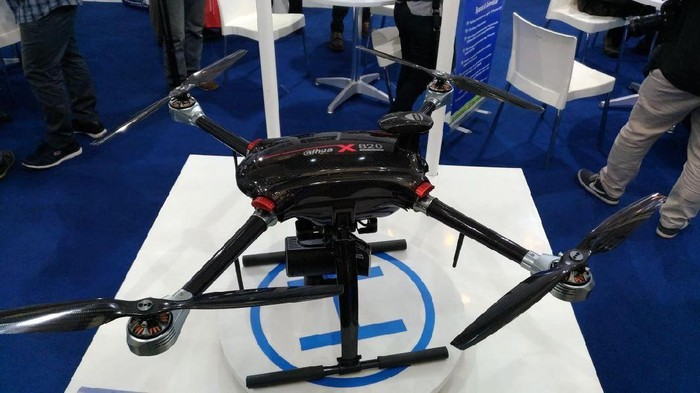 Drone X820. Foto: Dahua