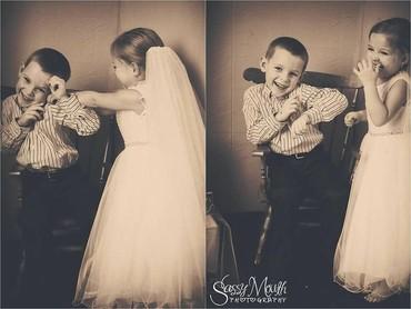 Untuk itu, Sophia punya permintaan terakhir yaitu melakukan wedding photoshoot sama teman sekolahnya, Hunter Lafferiere, sebelum menjalani tiga operasi jantung sekaligus. (Foto: Facebook/Sassy Mouth Photo)