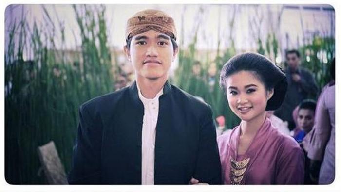 putra Jokowi pacaran.